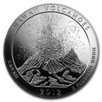 Hawai΄i Volcanoes National Park - Stříbrná mince - 5 Oz